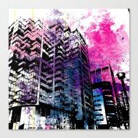 Ciudad #1 Canvas Print