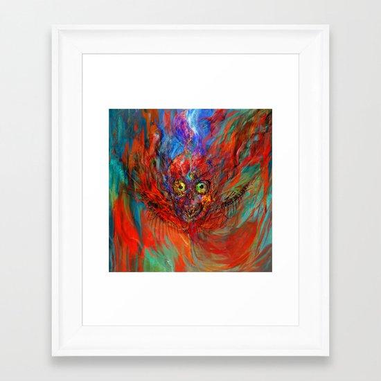 When soul leaves the body Framed Art Print