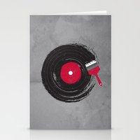 music Stationery Cards featuring Art of Music by dan elijah g. fajardo