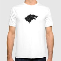 Stark Sigil - Winter Is … Mens Fitted Tee White SMALL