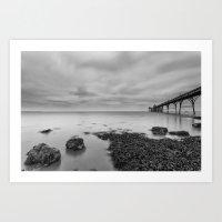 1046253 Clevedon Pier Art Print