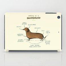 Anatomy of a Dachshund iPad Case