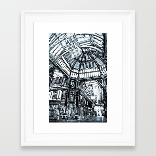 Leadenhall Market London Framed Art Print
