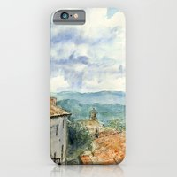 A View of Lacoste, France iPhone 6 Slim Case