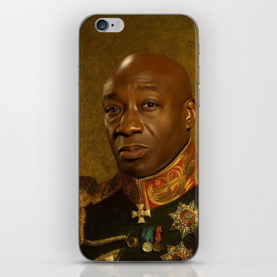 Michael Clarke Duncan - replaceface iPhone & iPod Skin