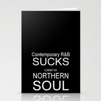 Contemporary R&B Sucks Stationery Cards