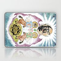 Two Horses, Tim and Eric Laptop & iPad Skin