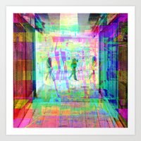Equations involving a consequence of sequences. 12 Art Print