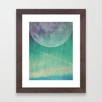 Lunar Radiation Framed Art Print