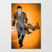 The Oncoming Storm Canvas Print