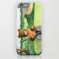 Golfer Bear iPhone 6 Slim Case