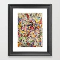 Drugs & Dubstep Framed Art Print