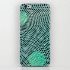mod-century grid iPhone & iPod Skin