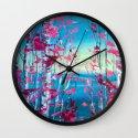 Birches Wall Clock