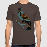 Inca Message Mens Fitted Tee Brown SMALL