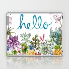 hello spring Laptop & iPad Skin