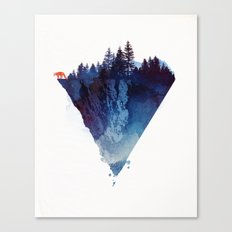 Near to the edge Canvas Print