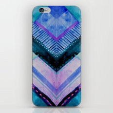 Blue Patchwork iPhone & iPod Skin
