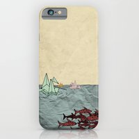 iPhone & iPod Case featuring Paper Cranes by Zach Hoskin
