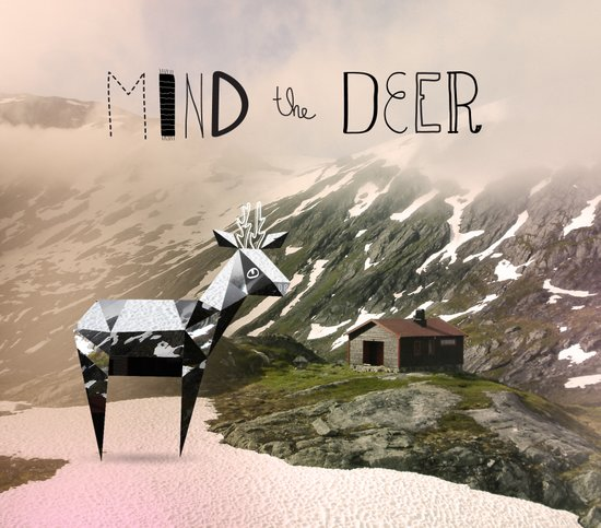 Mind the Deer! Art Print