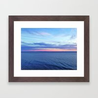 Colors Of The Ocean Framed Art Print