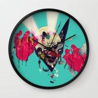 Hero Eater Wall Clock