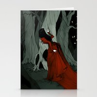 Snow White Lost in the Woods Stationery Cards