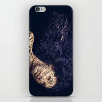 The Lines of a girl. iPhone & iPod Skin