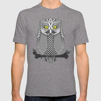 The Waiting Game Mens Fitted Tee Tri-Grey SMALL