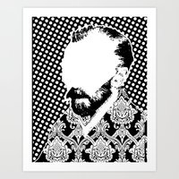 Vincent SW X1 Art Print