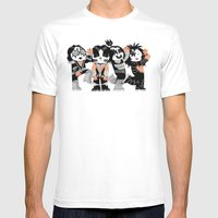 KISS!!!!! Mens Fitted Tee White SMALL