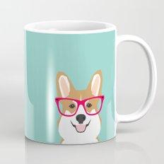 Teagan Glasses Corgi Cut… Mug