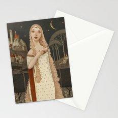 Lady Light  Stationery Cards