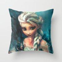 The Storm Inside Throw Pillow