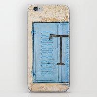 Vibrant Blue Window In S… iPhone & iPod Skin