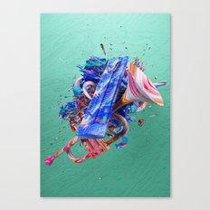 Colour Form & Expression #2 Canvas Print