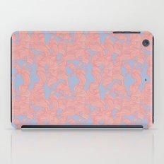 Trailing Curls // Pink & Blue Pastels iPad Case