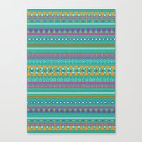 Tribal Party Canvas Print