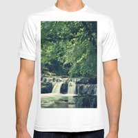 Rio En Tabira Mens Fitted Tee White SMALL