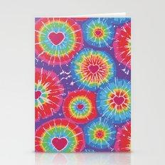 Love Tye Dye Stationery Cards