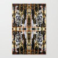 Drips ORG:02 Canvas Print