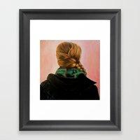 Shelby Framed Art Print