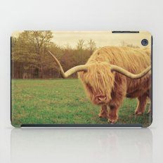 Scottish Highland Steer - regular version iPad Case