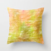 Grass Stains Throw Pillow