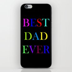 best dad iPhone & iPod Skin