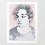 Art Print featuring BOY by Laura O'Connor