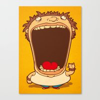 Big Mouth Canvas Print