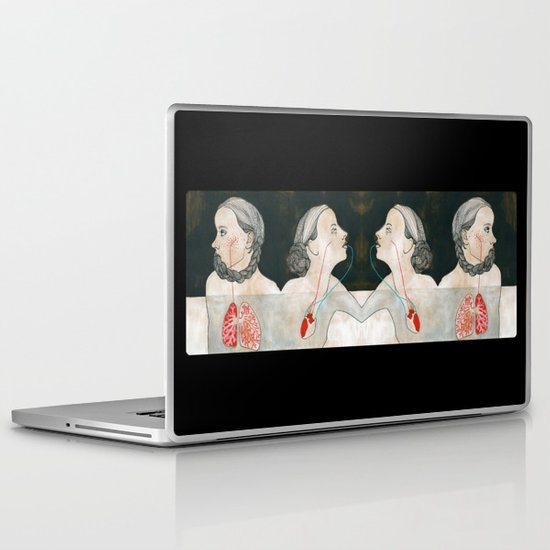 ikizler (twins) Laptop & iPad Skin