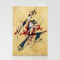 Ninja Assassin Stationery Cards