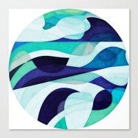 Bottomless Ocean Canvas Print